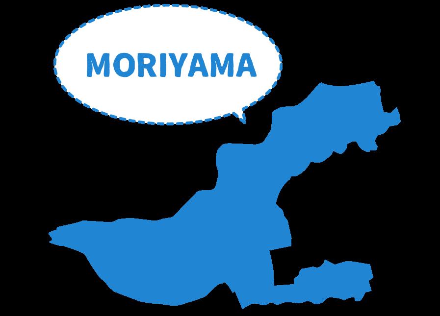 名古屋市守山区の図